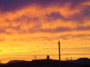 20090715 夕焼け2