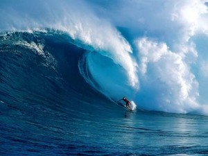 サーフィン