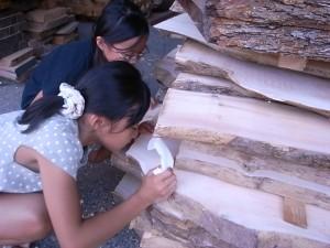20100823 バニラ香る将棋盤の木③