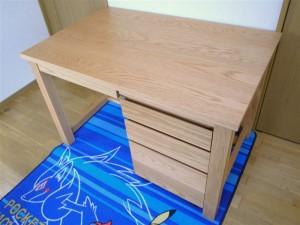 20110408 木の家具のある暮らし〔学習机〕⑤ (2)
